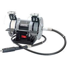 Draper 75 mm 50 W 230 V Mini Bench Grinder Flexible Drive Shaft Grinding Tool 06498
