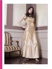 Abendkleid Zweiteiler Korsage Abschlussballkleid Maxikleid Kleid Gr. 34,40,42