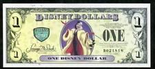 DISNEY DOLLARS, 2013D, DALMATIANS. UNCIRCULATED ERROR, THE 26th YEAR