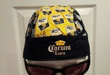Corona Repeat Du Rag Head Wrap Biker Bandana