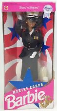 MARINE CORPS BARBIE STARS 'N STRIPES SPECIAL EDITION AFRICAN AMERICAN AA NRFB