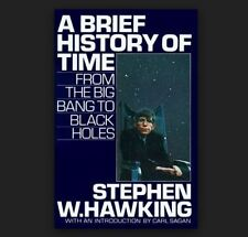 A BRIEF HISTORY OF TIME by Stephen Hawking a Hardcover book FREE USA SHIPPING