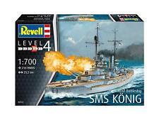 WWI Battleship SMS KÖNIG, Revell Schiff Modell Bausatz 1:700, 05157