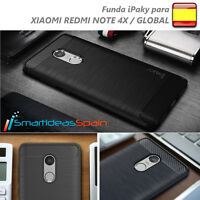 FUNDA XIAOMI REDMI NOTE 4X / 4 GLOBAL IPAKY SLIM TPU  CALIDAD RUGGED ARMOR COVER