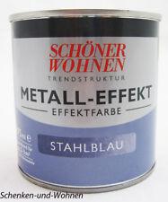 Trendstruktur- Metall-Optik - Effektfarbe Stahlblau 375 ml