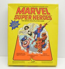 TSR Marvel Heroes Heroic Role-Playing Game RPG vintage Campaign Battle Books