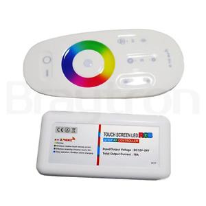 Braytron LED RGB Controller mit IR-Fernbedienung 216W 12/24VDC Dimmer Ein / Aus