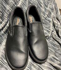 SafeTStep Size 12 Men's Leather Work Safety Oil And Slip Resistant Excellent.