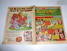 SCORCHER & SCORE Comic - Date 29/09/1973 - UK Paper Comic