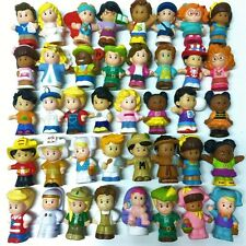 Random 10pcs Boy Girl Toy Fisher Price Little People Family Friendship Figures