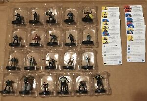 Heroclix Batman Arkham Origins Complete 21 Figure Set w/ Cards NEW! by WizKids