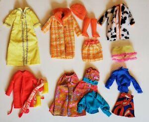 Vintage Barbie Doll Clothes Lot Matte Mod 1960's, #1492-1881-1873-1464-1792-1864