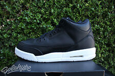 AIR JORDAN III 3 RETRO GS SZ 7 CYBER MONDAY KIDS BLACK WHITE 398614 020