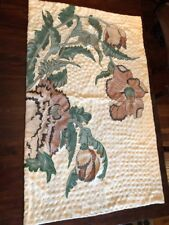 Andraab Textiles Wool Embroidered Wall Hanging Art Modern Floral Boho Decor