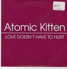 (CE991) Atomic Kitten, Love Doesn't Have to Hurt - 2003 DJ CD