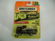 MATCHBOX 1997 VOLVO CONTAINER TRUCK ON CARD #23/75