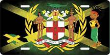 JAMAICA NICE COAT OF ARMS LICENSE PLATE