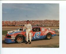 Buddy Arrington NASCAR Driver Signed Autograph Photo