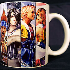 Final Fantasy 10 X - Coffee MUG - Yuna - Rikku - Tidus - Chocobo