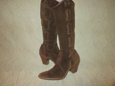 Vintage Via Spiga Suede leather boots Size 10 M