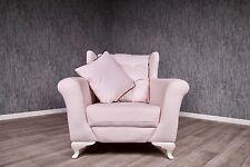 baroque fauteuil bergère ANCIEN MASSIF ROSE VIEILLI stilart meubles Rembourrés