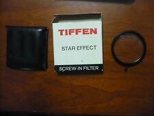 Tiffen Star Effect Screw in filter 55mm VGC 1mm