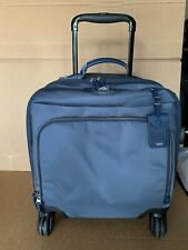 Tumi Voyageur Oslo Compact 4 Wheeled Carry-On Luggage 484662 Blue