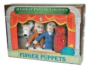 The Great Psychologists Finger Puppet / Fridge Magnet Set