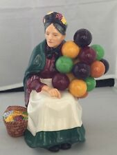 Royal Doulton The Old Balloon Seller Vintage Woman Figurine H. N. 1315