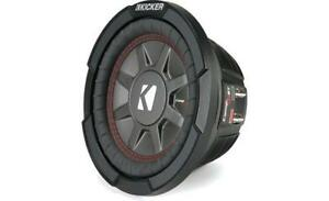 "KICKER CWRT671 6.75"" COMP RT THIN DUAL VOICE COIL 1 OHM SUBWOOFER"