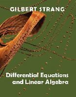 Differential Equations and Linear Algebra, Hardcover by Strang, Gilbert, Bran...