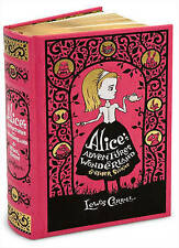 Alice's Adventures in Wonderland & Other Stories (Barnes & Noble Omnibus Leatherbound Classics) by Lewis Carroll (Leather / fine binding, 2010)