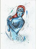 Mystique X-Men Original Art Sketch
