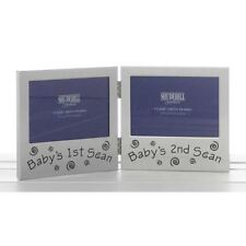 Baby 1st & 2nd Scan Photo Frame Baby Shower Gifts Keepsake Birth memories