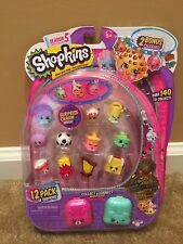 Shopkins season 5 12 pack EXCLUSIVE SWAPKINS GOLD Kooky Cookie RARE