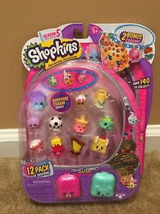 Shopkins season 5 12 pack EXCLUSIVE SWAPKINS GOLD Kooky Cookie RARE
