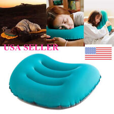 Ultralight TPU Neck Concave Air Pillow Inflatable Outdoor Camping US STOCK
