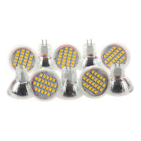 10x MR11 GU4 Warm White 3528 SMD 24 LED Home Spotlight Light Lamp Bulb 1W 12V T9