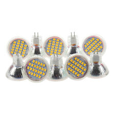 10x MR11 GU4 Warm White 3528 SMD 24 LED Home Spotlight Light Lamp Bulb 1W 1 O0M4
