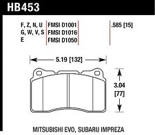 Hawk Performance HB453W.585 Excellent Release Characteristics Disc Brake Pads