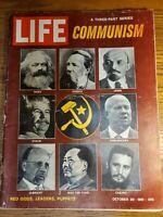 COMMUNISM - Life Magazine - October 20, 1961