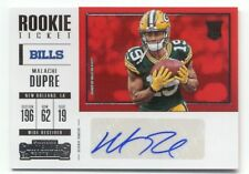 MALACHI DUPRE 2017 Contenders Variation #266 AUTOGRAPH Rookie Ticket AUTO Bills