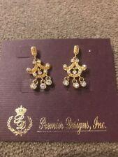 Earrings $28 (Dc) Premier Designs Gold/Diamond Toned