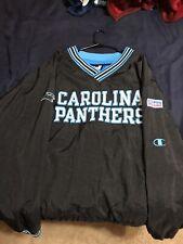 05e8759d Vintage Champion Proline Carolina Panthers pullover windbreaker sz XXL