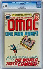 OMAC #1 (Sep-Oct 1974, DC) CGC 9.8 NM/MT Jack Kirby Origin & 1st appearance OMAC