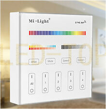 Milight 2.4G RF B4 4 Zone RGB+CCT Smart Panel 30M Distance Remote Controller 3V