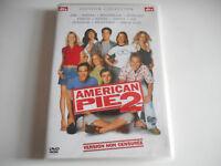 DVD -  AMERICAN PIE 2 / VERSION NON CENSUREE - ZONE 2