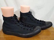 Converse Chuck Taylor All Star Black Canvas Hi Top Shoes M3310 Men 11 / Women 13