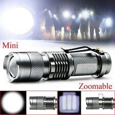 Tactics CREE Q5 LED 1000 Lm Flashlight Torch Lamp Light AA /14500 Lantern Bright