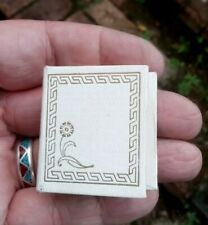 1960s Jewelers Box In Shape Of A Miniature Book - E Vasen St Albans